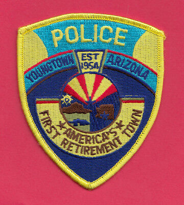 H22 * Htf Older Youngtown Arizona Police Highway State Patch *