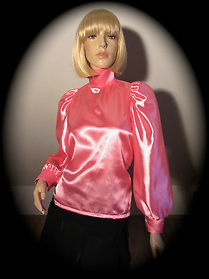 Traum Satin Kleid Sissy Zofe Bluse Transgender Crossdress