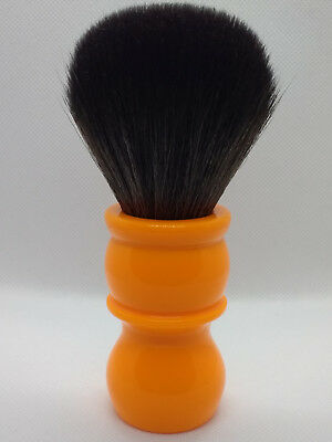yaqi shaving brush synthetic bristles 26mm high quality hair butterscotch handle