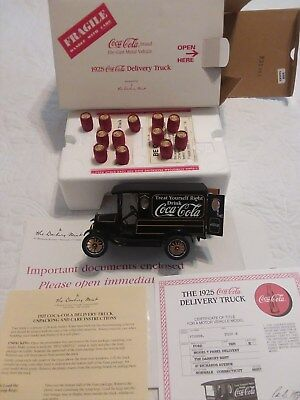 Danbury Mint 1925 Coca Cola Delivery Truck 1:24