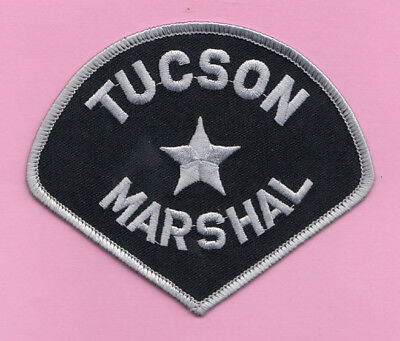 H29 * Old Htf Marshal City Of Tucson Arizona Highway State Police Patch *