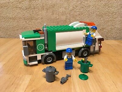 Lego 5898 Gas Station Car Truck 100 Complete With Instructions