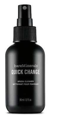 Bare Minerals QUICK CHANGE BRUSH CLEANER clean makeup brushes fast drying NEW