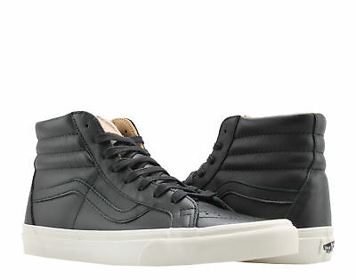Vans Sk8-Hi Reissue Lux Leather Black/Porcini Hi Top Sneakers VN0A2XSBQTS