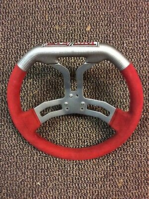 Tony Kart Steering Wheel with Angled Boss