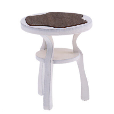 Mini Wooden Chair Stool Furniture for 1:12 Dollhouse Miniature Decoration