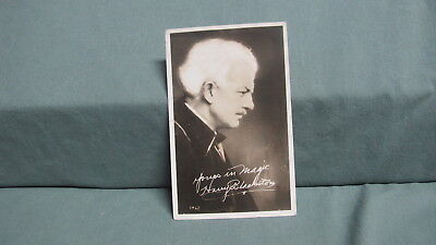 Vintage  HARRY BLACKSTONE Sr. 1952 Post card