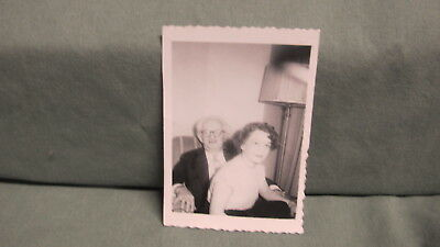 Vintage  HARRY BLACKSTONE Sr. and his Wife Snap shot Photo