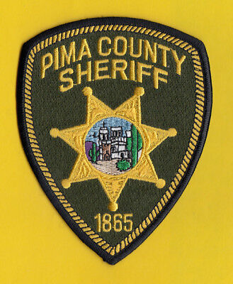 H18 * Pima County Sheriff Tucson State Police Patch Green