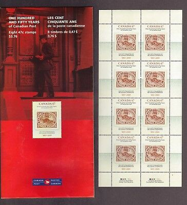 CANADA 2001 CANADA POST IN  FOLDER WITH PAMPHLET #s 1900 WITH 1900i VARIETY