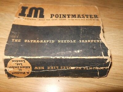 IM Pointmaster Gramophone Thorn Needle Sharpener Card Case Only