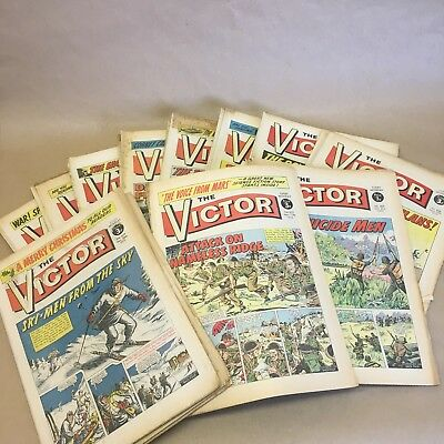 VICTOR Comic - 1972 near complete year - 50 Issues - Nos. 567 / 619 - minus 602