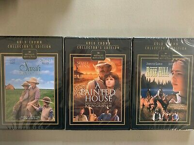 Hallmark DVD lot New Free Ship Sarah Plain and Tall A Painted House Rose Hill