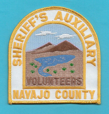 H9 * Navajo County Sheriff Volunteer Auxiliary State Police Patch