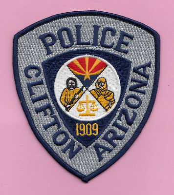 H9 * Htf Older Clifton Green Dps Arizona State Highway Police Patch