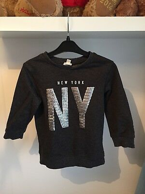 Boys Grey Jumper 18-24 Months River Island