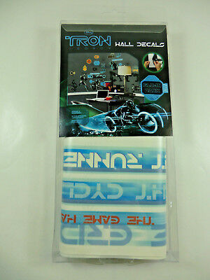 Disney Tron Legacy Peel & Stick Wall Decals Glow in the Dark NEW