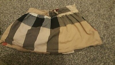 burberry skirt baby girl 12 months from childplay clothing rrp£90 . bow detail .