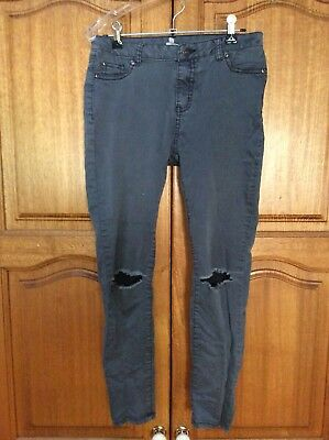 Seed Teens Size 14 Stretch Jeans Grey