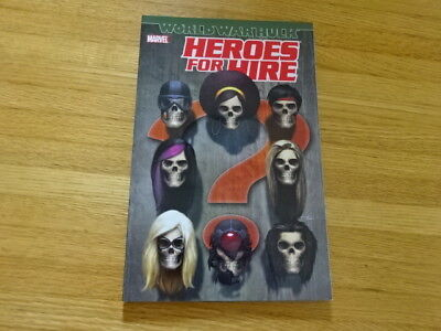 Rare Copy Of Heroes For Hire: World War Hulk Tpb Graphic Novel! Marvel!