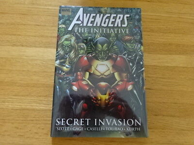 Rare Copy Of Avengers: The Initiative Hard Cover Graphic Novel! Marvel!