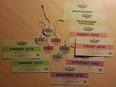 Goodwood Revival 2018 Tickets Full Weekend & Grandstands for 2 persons, 3 days