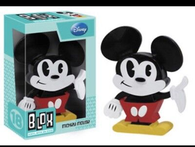 Funko Blox Disney Mickey Mouse Vinyl Figure New In Box