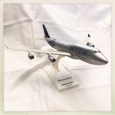 Boeing 747-400 China Airlines B-18206 Skyteam 1:250 ~Rare~Free Fast Shipping