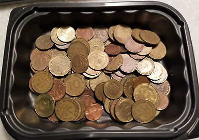 Lqqk!!  Lot Of 95 German Pfennig Coins - Unsearched!!! - #3317