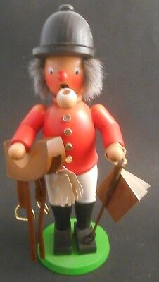 """Christian Ulbricht Germany Equestrian 11"""" Incense Smoker Saddle Whip Horse Rider"""