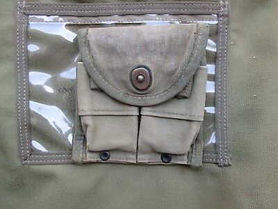 WWII WW2 M1 Carbine Pouch US Army   original belt cover mag