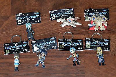 Vision of Escaflowne  japanese Keychain / Swing Set (x7) Anime / Manga BANPRESTO