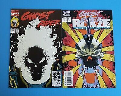 Ghost Rider #15 / Spirits of Vengeance #12 Glow in the Dark Covers Marvel Lot