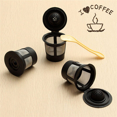 1PCS Reusable Replacement Coffee Filter Refillable Capsules For Keurig K-cup ~