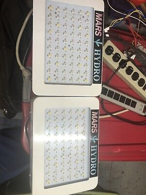 2x (two) Mars Hydro 300W Full Spectrum LED grow lights