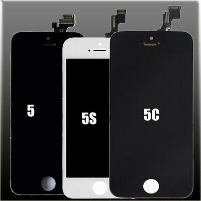 LCD Display Digitizer For iPhone 5S 5C 5 Screen Assembly Front Panel Replacement