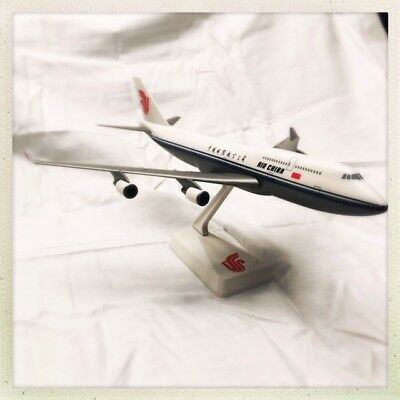 AIR CHINA Boeing 747 w/stand ~RARE~FREE FAST SHIPPING