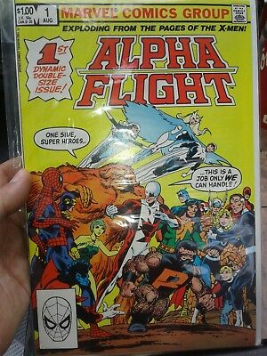 Alpha Flight #1 (Aug 1983, Marvel) [1st Appearance Puck Marrina] John Byrne c