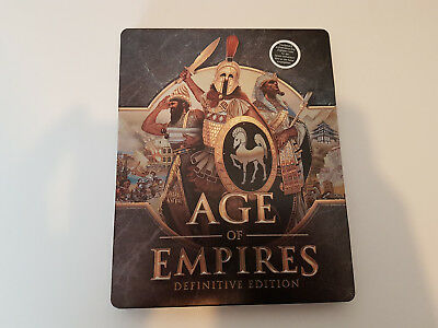 Age of Empires / PC Definitive Edition / Exclusive Steelbook / No Game inside !!