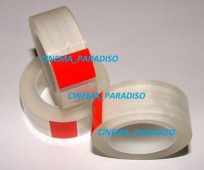 SUPER CLEAR SPLICING TAPE FOR CIR CATOZZO 16mm FILM SPLICERS
