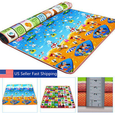 Baby Kids Play Mat Foam Floor Child Activity Soft Toy Gym Crawl Creeping Blanket