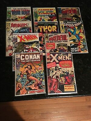 10 Marvel Comics - X-men 5 & 61, Conan 1, Daredevil 3, Spider-Man 84 & More!