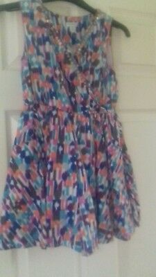 Monsoon Girls Colourful Playsuit Age 9 Years