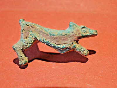 "Roman Enamelled Bronze ""Zoomorphic"" Brooch in the form of a Wild Boar (c 2nd C.)"