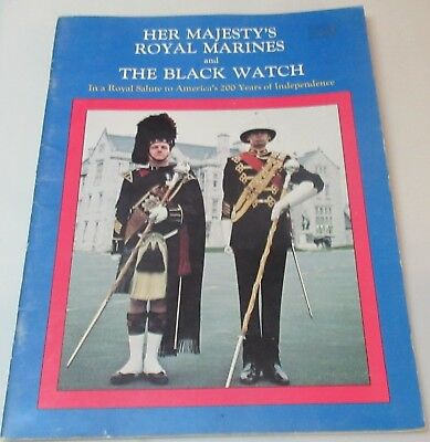 Her Majesty's Royal Marines and The Black Watch Program 1976 (United Kingdom)