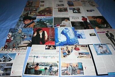 LOT of 25+ TRACY BYRD Promo Magazine Article Photo Clippings