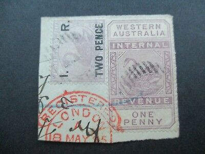 Western Australia Stamps: Parcel Piece Great Item RARE Used   {q41