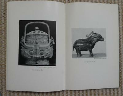 Chinese Bronzes of Shang through T'ang Dynasty 1938 exhibition 62pp + 46 plates