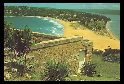 PALM BEACH from BARRENJOEY POSTCARD Australia Post 1976 PRE-PAID 18c MINT USABLE