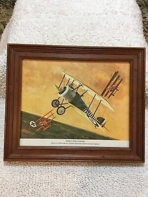 WW1 Eagles Framed  Art - J B Deneen